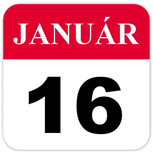 Január 16.
